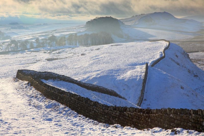 HW190P KENNEL CRAGS HADRIAN'S WALL