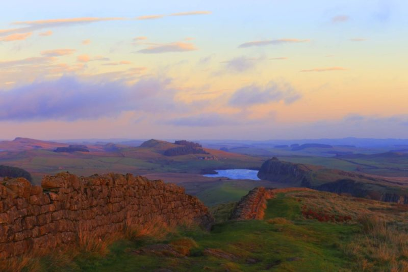 HW660 WINSHIELD CRAGS HADRIAN'S WALL