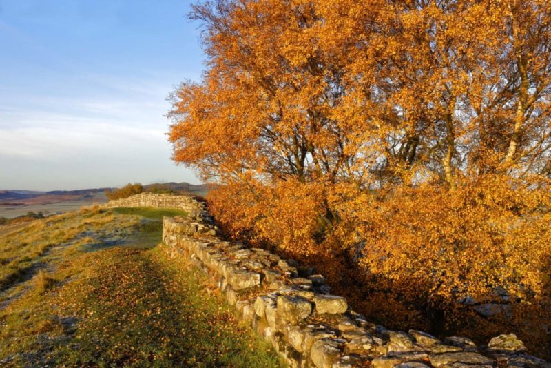HW742 CAWFIELDS CRAGS HADRIAN'S WALL