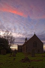 eHW911.20 ST OSWALD'S CHURCH, HEAVENFIELD, NORTHUMBERLAND
