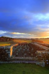 HW223C HOUSESTEADS ROMAN FORT, HADRIAN'S WALL, NORTHUMBERLAND