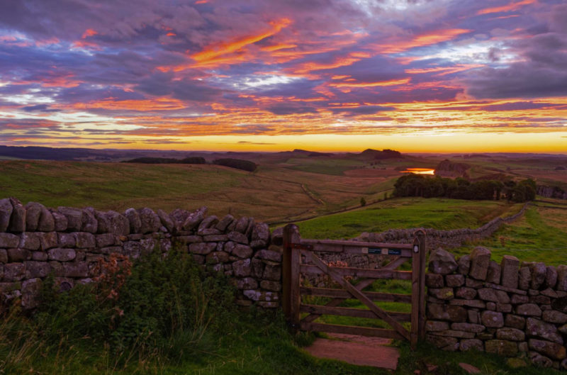 HW608.1 WINSHIELD CRAGS, HADRIAN'S WALL, NORTHUMBERLAND