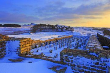 HW199E THE GRANARY, HOUSESTEADS ROMAN FORT, HADRIAN'S WALL