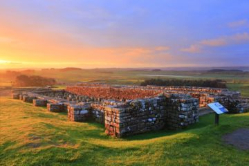 HW222D HOUSESTEADS ROMAN FORT, HADRIAN'S WALL