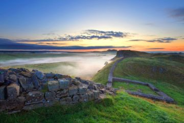 HW447A CASTLE NICK HADRIAN'S WALL