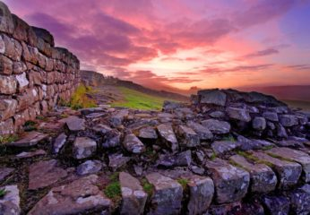 HW759 MILECASTLE 42 CAWFIELDS CRAGS HADRIAN'S WALL