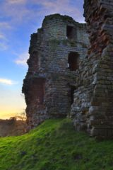 wHW1030D THIRLWALL CASTLE, HADRIAN'S WALL, GREENHEAD, NORTHUMBERLAND