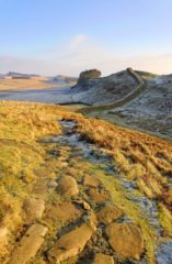 HW284D CUDDY'S CRAGS HADRIAN'S WALL