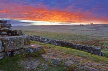 HW767.1 MILECASTLE 42 CAWFIELDS CRAGS HADRIAN'S WALL NORTHUMBERLAND
