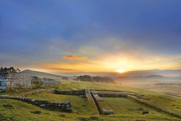 HW200E1 HOUSESTEADS ROMAN FORT HADRIAN'S WALL