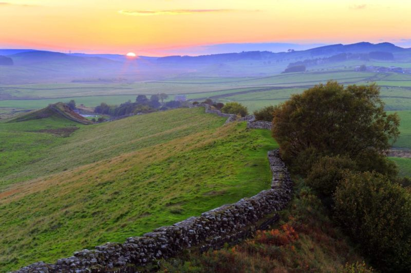 HW726E CAWFIELDS CRAGS HADRIAN'S WALL