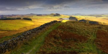 HW664 WHINSHIELD CRAGS HADRIAN'S WALL