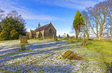 EHW912D ST OSWALD'S CHURCH, HEAVENFIELD, NORTHUMBERLAND